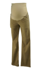 Tan by Ann Taylor Loft Maternity Boot Cut Corduroy Maternity Pants (Gently Used - Size 4M)