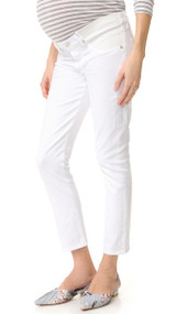 White Citizens Of Humanity Maternity Pheobe Straight Leg Maternity Pants (Like New - Size 24)