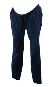 Navy Lavish by Heidi Klum Maternity Straight Leg Maternity Jeans (Gently Used - Size Large)
