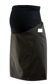 *New* Black Motherhood Maternity Career Maternity Skirt with Slit on the Back (Size Small)