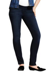 "Dark Wash DL 1961 ""Nicky"" Maternity Mid Rise Cigarette Jeans (Gently Used - Size 24)"