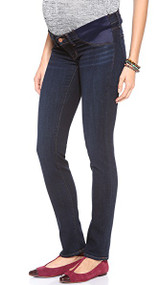 *New* Dark Wash J Mama J Brand Maternity Rail Skinny Maternity Jeans (Size 25)