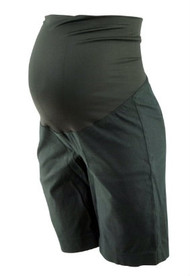 Black Loft Maternity Full Panel Career Shorts (Like New - Size 2Medium)