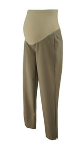 *New* Beige A Pea in the Pod Maternity Straight Leg Career Maternity (Size Small)