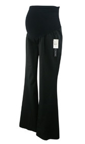 *New* Onyx Black A Pea in the Pod Maternity Fit + Flare Full Panel Versatile Maternity with Pockets (Size X-Small)