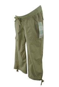 *New* Two Hearts Maternity Casual Khaki Maternity Pants (Size Small)
