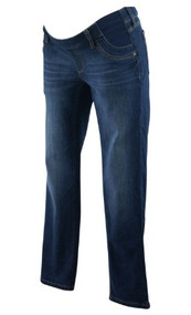 Dark Wash 4 Way 360 Stretch Angel Midrise Skinny Jeans by DL 1961 Maternity (Like New - Size 28)