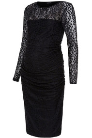 Black Isabella Oliver Maternity Kinross Lace Dress (Like New - Size 1 / Size 4 USA)
