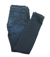Blue Skinny Maternity Jeans by AG Adriano Goldschmied for A Pea in the Pod Collection Maternity (Gently Used - Size 25R)