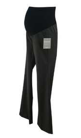 *New* Dark Gray A Pea in the Pod Maternity Boot Cut Career Maternity Pants (Size X-Small)