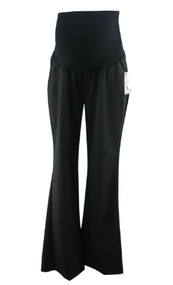 *New* Black A Pea in the Pod Maternity Boot Cut Career Maternity Pants (Size Large)