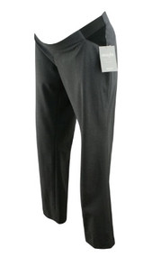 *New* Gray A Pea in the Pod Maternity Straight Leg Maternity Career Pants (Size Large)