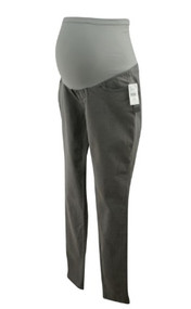 *New* Light Gray A Pea in the Pod Maternity Full Panel Maternity Skinny Jeans (Size 0)