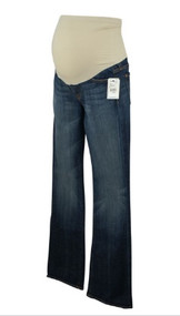 *New* Denim Blue A Pea in the Pod Collection Maternity Boot Cut Maternity Jeans (Size 26)