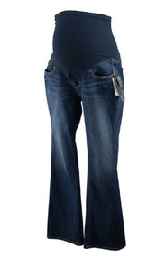 *New* Denim Blue A Pea in the Pod Maternity Jeans (Size Petite Small)