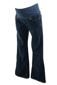 Sapphire Blue It! Maternity Corduroy Boot Cut Maternity Pants (Size Small)