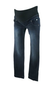 *New*  Dark Wash Le Fruit Qu On  Fit Maternity Skinny Jeans
