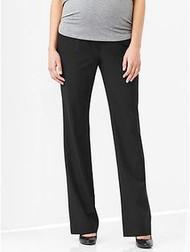 Black Gap Maternity Full Panel Career Modern Boot Pants (Like New - 2R)