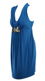 *New* Lagoon Teal A Pea in the Pod Maternity Embellished Maternity Dress (Size Medium)
