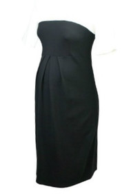 Black and White Color Black Isabella Oliver Maternity Casual Career Laela Dress (Like New - Size 10 US)