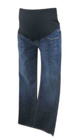 Dark Wash Blue Citizens of Humanity by Jerome Dahan Maternity Boot Cut Maternity Jeans (Like New - Size 28)