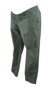 Forest Green GAP Maternity Best Girlfriend Maternity Pants (Gently Used - Size 10)