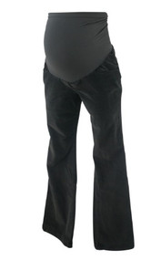 Charcoal Motherhood Maternity Boot Cut Corduroy Maternity Pants (Gently Used - Size Medium)