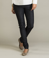 *New* Dark Gray Mom 2 Mom Maternity Cinched Straight Leg Maternity Jeans (Size 44 / Size 14 USA)