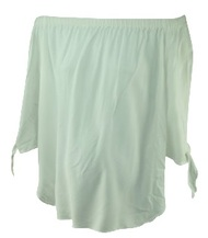 White Isabella Oliver Maternity Off the Shoulder Maternity Top (Like New - Size 2 USA 6)