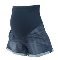 Blue Mavi for A Pea in the Pod Maternity Summer Maternity Shorts (Like New - Size X-Small)