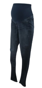Dark Wash Sold Design Lab for A Pea in the Pod Maternity Straight Leg Jeans (Gently Used - Size Large)