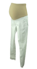 White AG Adriano Goldschmied Maternity Skinny Cropped Maternity Jeans (Like New - Size 26R)