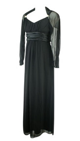 Black Celavie Collection Special Occasion Dress (Like New - Size Medium)