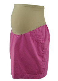 Hot Pink A Pea in the Pod Maternity Casual Mini Maternity Skirt (Gently Used - Size Medium)