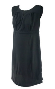 Black A Pea in the Pod Maternity Sleeveless Career Maternity Dress (Like New - Size Large)