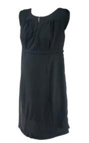 Black A Pea in the Pod Maternity Sleeveless Career Maternity Dress (Like New - Size Large)