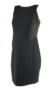 Black A Pea in the Pod Collection Maternity Versatile Maternity Dress (Like New - Size Medium)