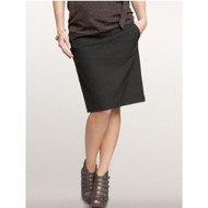 Black GAP Maternity Demi Panel Maternity Pencil Skirt With Pockets (Like New - Size 2)