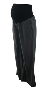 Charcoal Gray Theory by A Pea in the Pod Collection Maternity Dress Pants (Like New - Size 8)