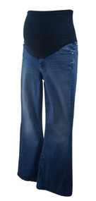 Blue Moon A Pea in the Pod Collection Maternity Super Flare Full Panel Maternity Jeans (Like New - Size 27)