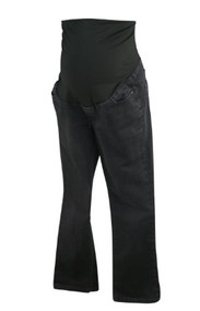 Black Worn Ann Taylor Loft Maternity Jeans (Gently Used - Size 6M)