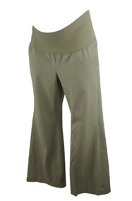 Tan GAP Maternity Casual Career Maternity Pants (Gently Used - Size 8))