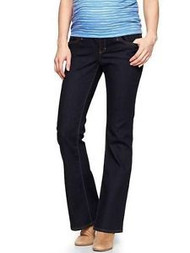 Dark Denim Sexy Boot GAP Maternity Jeans (Gently Used - Size 29/8a)