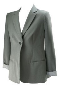 *New*  Gray A Pea in the Pod Maternity Career Maternity Blazer Jacket (Size Large)