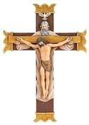 Holy Mass Wedding Crucifix Gold Amp Cream Papal Marriage