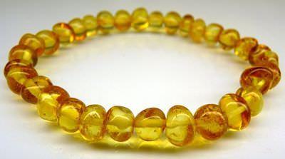 Adult Amber Bracelet - Honey