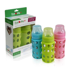 ILuvBaby 240ml Wide-neck Glass Baby Bottle Range