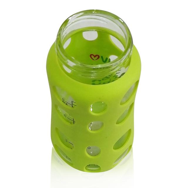 ILuvBaby 240ml Wide-neck Glass Baby Bottle Neck Opening