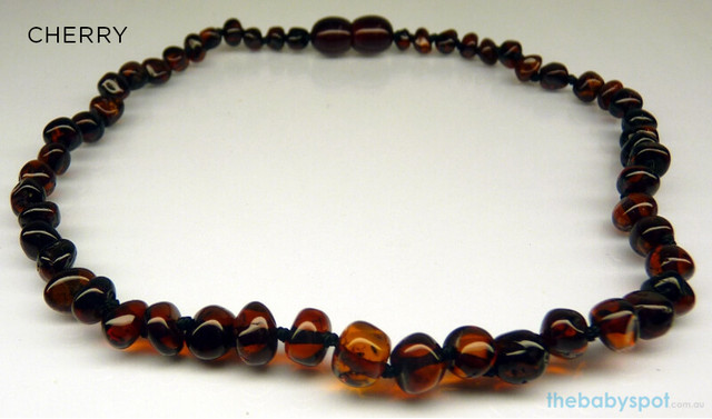 Adult Baltic Amber Necklaces - CHERRY