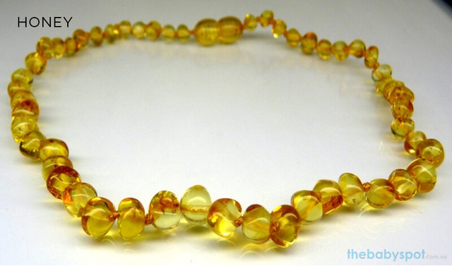 Adult Baltic Amber Necklaces - HONEY